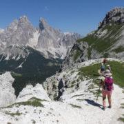 Watse Dolomites trek avec guide une semaine