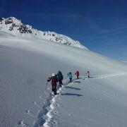 randonnée raquettes mont blanc - agence Watse