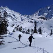 randonnée raquettes avec guide autour du mont blanc - le truc