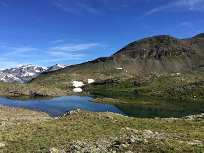 Lac Saint Martin au Grand Paradis