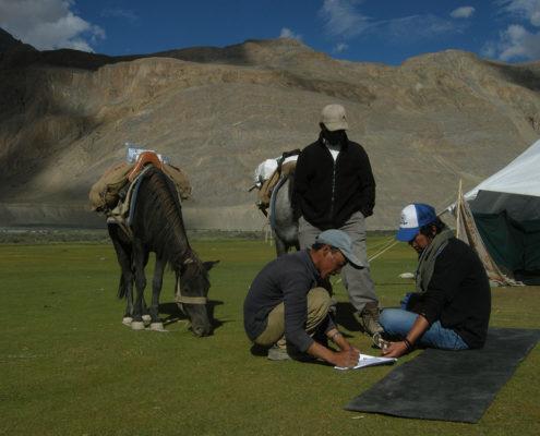 Repérage au Ladakh