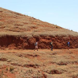 randonnée sur le plateau de l'île de Santo Antao