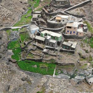 villages contrastés sur Santo Antao