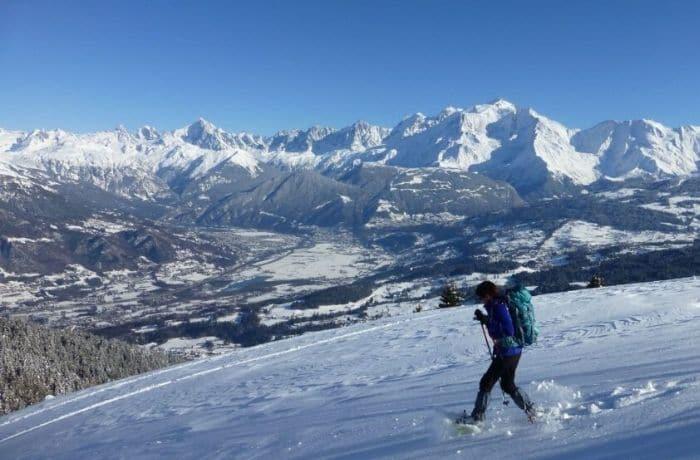 Séjour raquettes en Pays du Mont Blanc