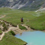 Paysages montagne - trek dans les ALpes françaises