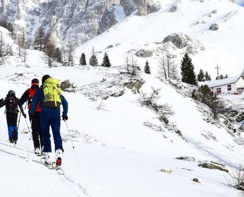comment débuter le ski de randonnée
