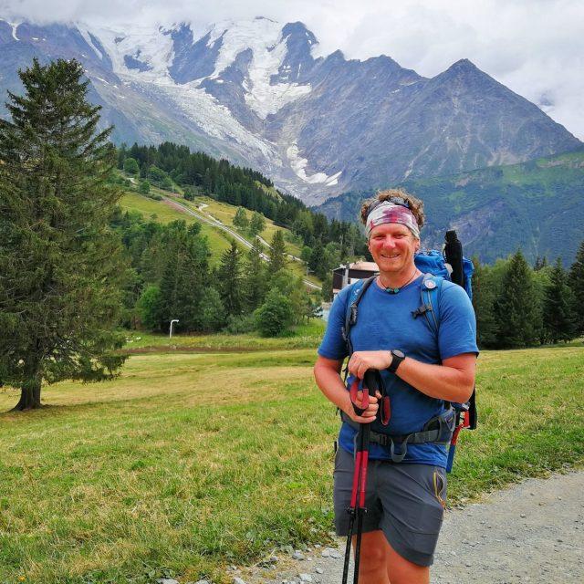 Sébastien, guide sur le Tour du mont Blanc